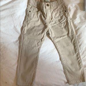 Zara boys Beige Pants